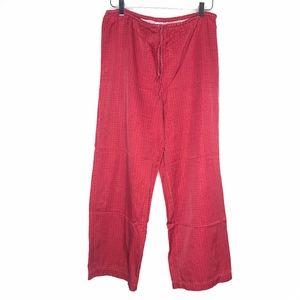 Victoria's Secret Red Pajama Lounge Pants A130574